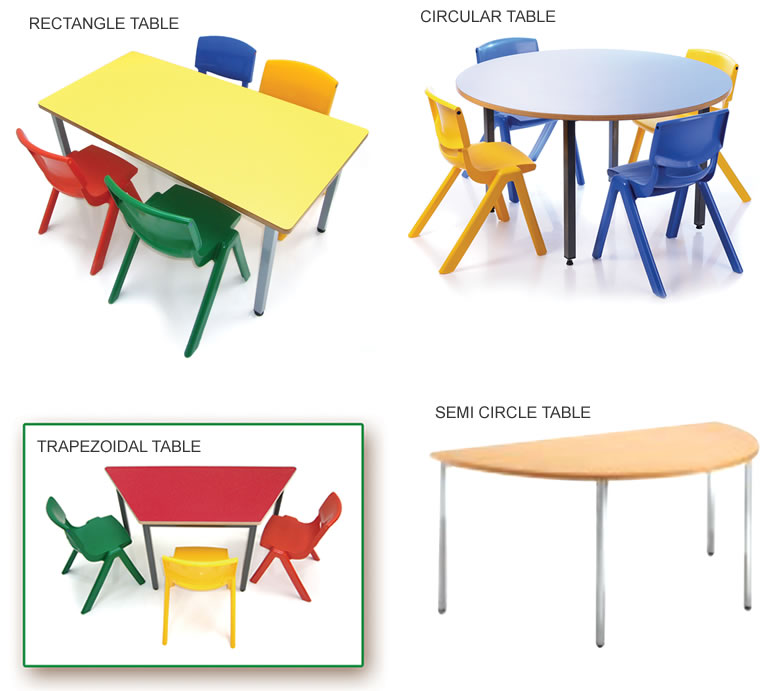 Classroom tables supplier