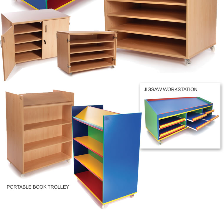 General Storage Solutions For Schools And Nursery Schools